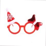 Óculos com Enfeites de Natal - Sem Lente