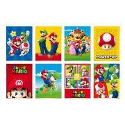 Painel Decorativo Super Mario com 8 unidades