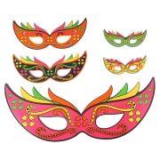 Painel Máscaras Neon - 5 unidades