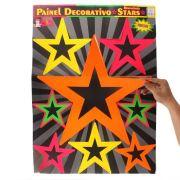 Painel Retrô Stars Neon