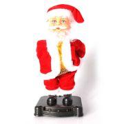 Boneco Papai Noel Garrafa de Natal com Luz e Música