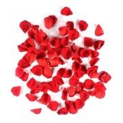 Pétalas de Rosas Vermelhas Aveludadas 100 unidades
