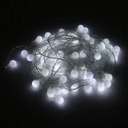 Pisca Pisca Branco com 60 Bolinhas LED - 110V