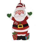 Placa Decorativa Papai Noel Dupla Face