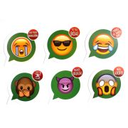 Placas Zap Zap - Whatsapp ( 6Un )