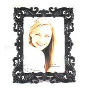 Porta Retrato Arabesco Fino 15x20cm Preto