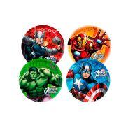 Prato Redondo 18Cm Vingadores Avengers 8Un