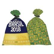 Sacolinha Surpresa Brasil Copa do Mundo 2018 - 8 Unidades
