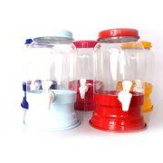 Suqueira de Plástico com Base de Alumínio - 3 Litros