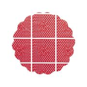 Tapetinho 9Cm Vermelho
