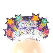 Tiara Feliz Ano Novo Luxo - Unidade
