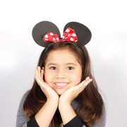 Tiara Orelhinhas da Minnie para Festas e Fantasias