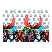 Toalha De Mesa 120X180 Vingadores Avengers Un