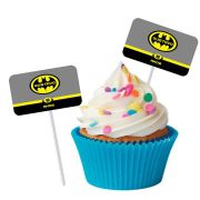 Topper Retangular para Doces Personalizado 15un Batman