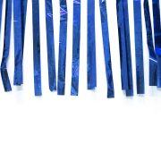 Varal de Fitas Metalizadas Azul com 10 Metros