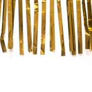 Varal de Fitas Metalizadas Dourada com 10 Metros