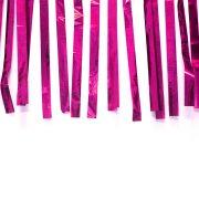 Varal de Fitas Metalizadas Pink com 10 Metros