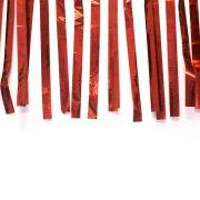 Varal de Fitas Metalizadas Vermelha com 10 Metros