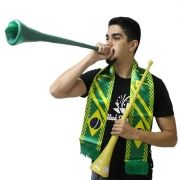 Vuvuzela Torcida do Brasil Copa 2018 - Cores Sortidas