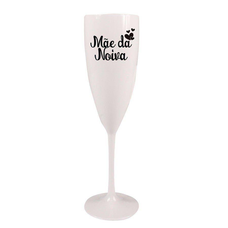 22 Taça Champagne Personalizada Casamento Mãe Da Noiva