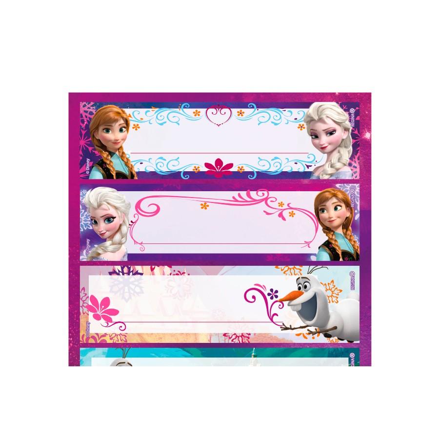 Adesivo 3 Cartelas Decorativo Frozen