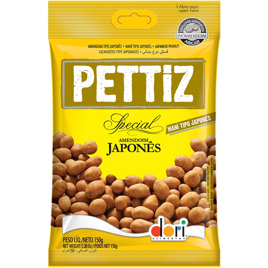 Amendoim Japonês Pettiz Dori de 150g