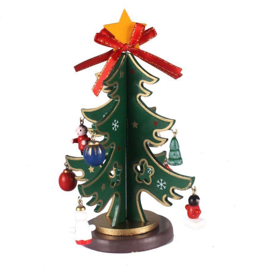 Árvore de Natal Decorada 16x11cm