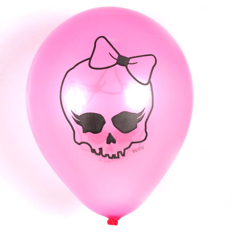 Balão Balloontech Caveira Nº 10 C/25Un