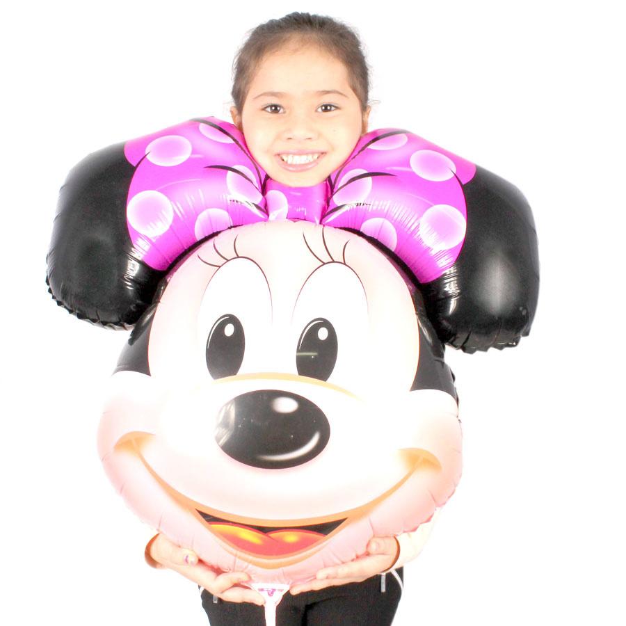 Balão Metalizado Minnie 50Cm