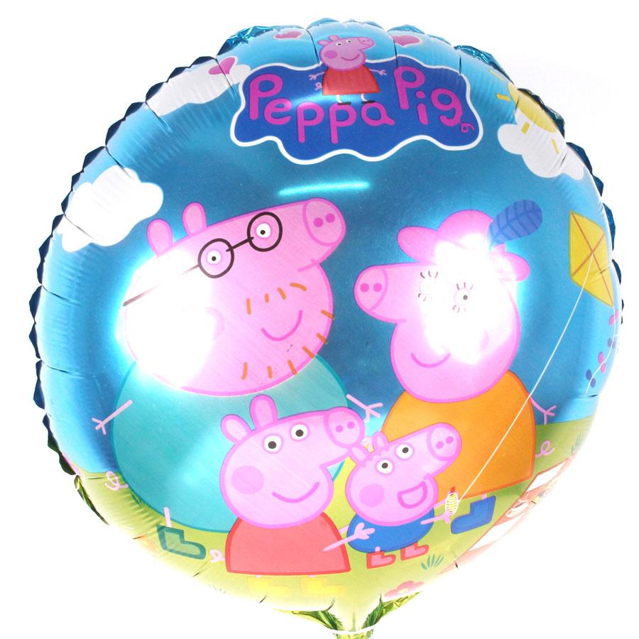 Balão Metalizado Redondo Peppa Pig