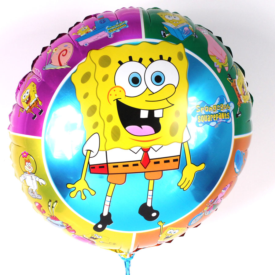 Balão Metalizado Redondo Bob Esponja