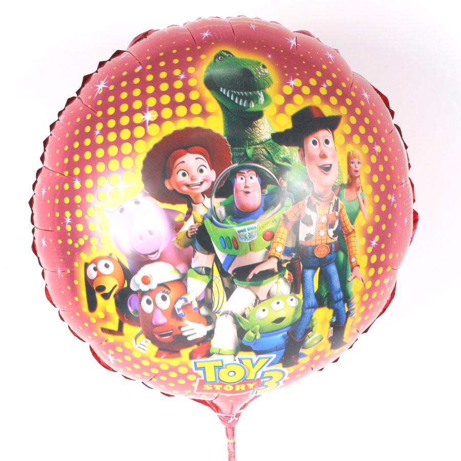 Balão Metalizado Redondo Toy Story