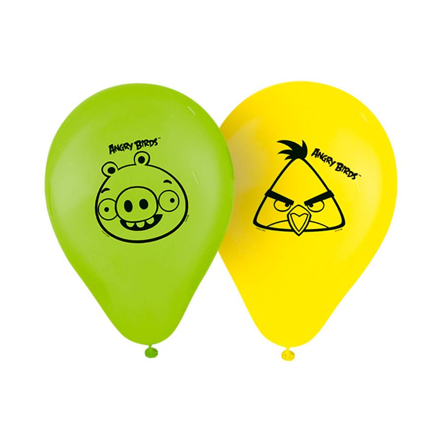 Balão Nº9 Angry Birds 25Un