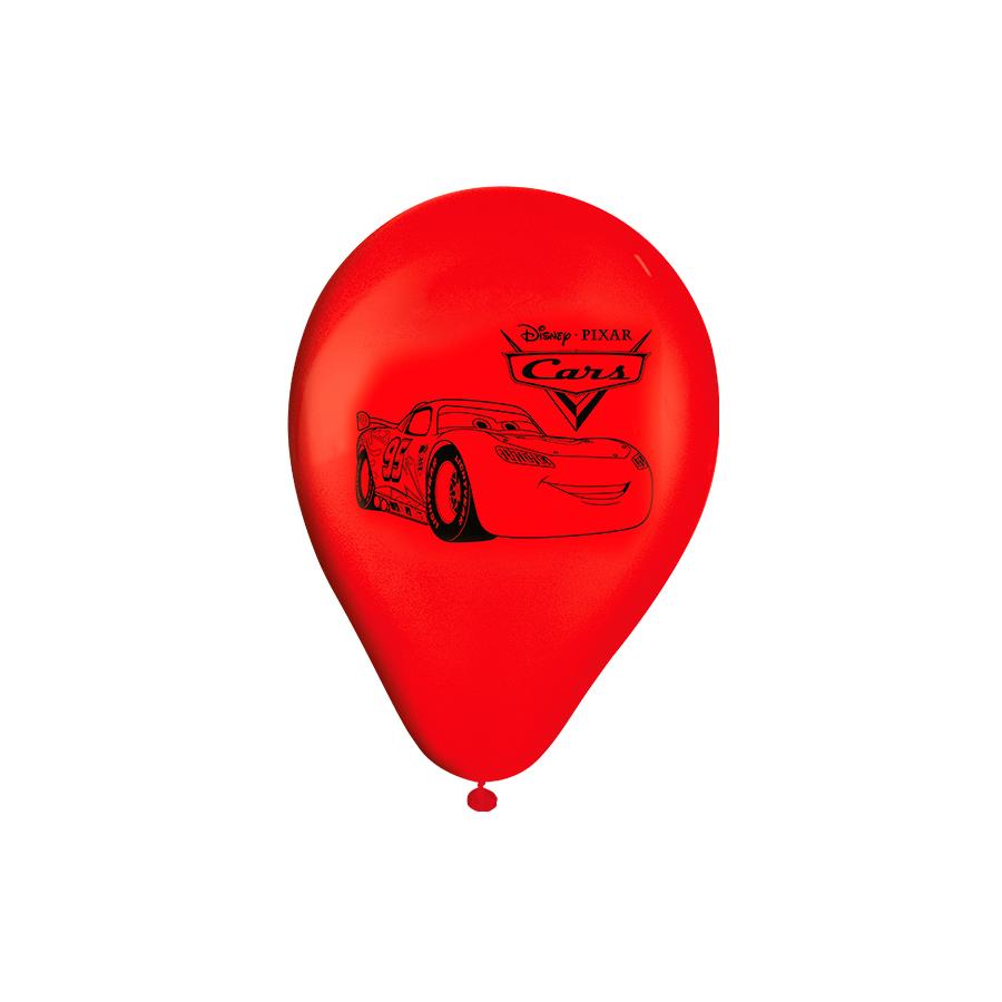 Balão Nº9 Carros 25Un