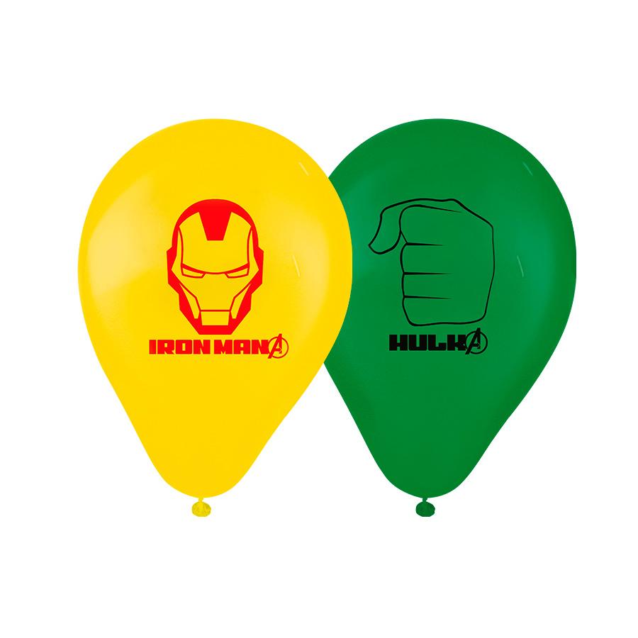 Balão Nº9 Vingadores Avengers 25Un