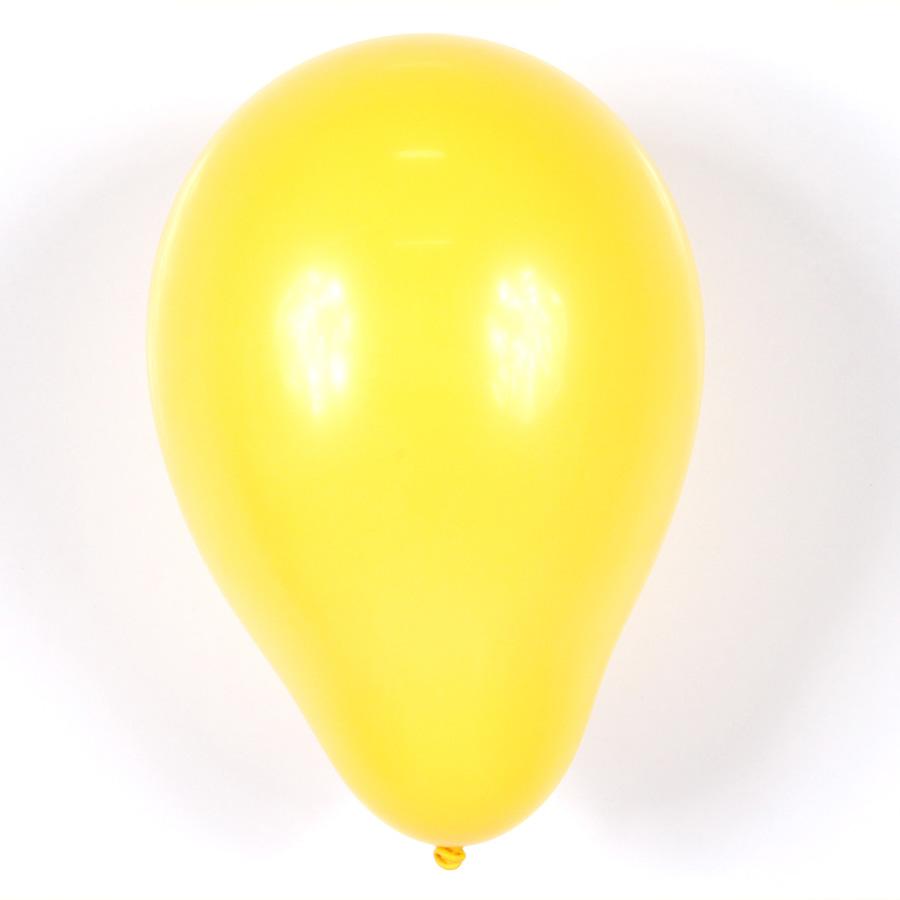 Balão Pic Pic Nº 9 C/ 50Un Amarelo