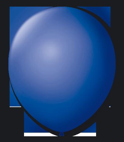 Balão São Roque Nº 8 Com 50 Unidades Azul Cobalto