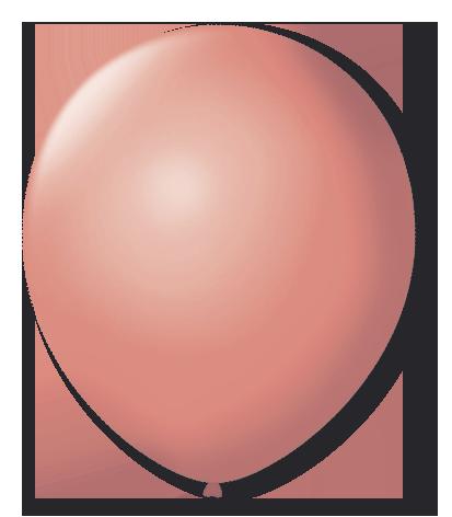 Balão São Roque Nº 8 Com 50 Unidades Coral
