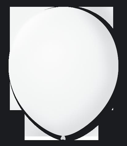 Balão São Roque Nº 8 Com 50 Unidades Cristal / Transparente