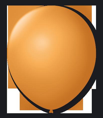 Balão São Roque Número 8 Dourado Cintilante - 50 Unidades