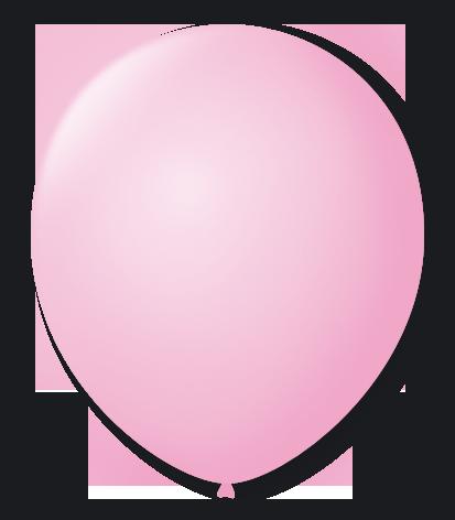 Balão São Roque Número 8 Rosa Baby - 50 Unidades