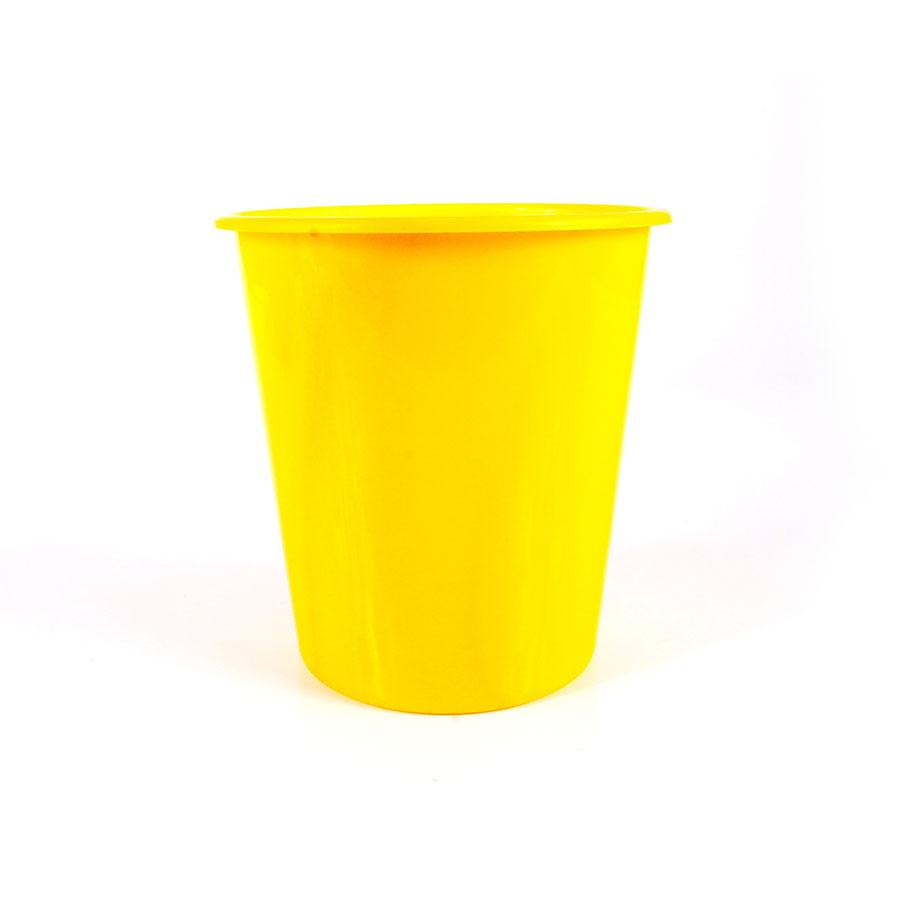 Balde de Pipoca para Personalizar Amarelo