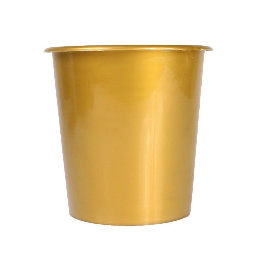 Balde de Pipoca Dourado