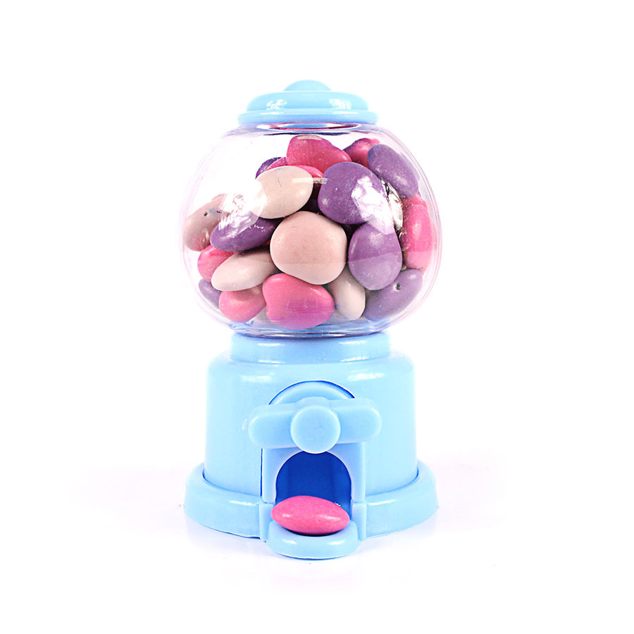 Mini Baleiro Candy Machine Azul