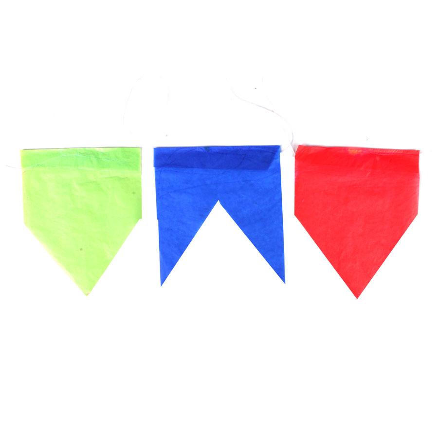 Bandeirinhas de Seda para Festa Junina - 10 Metros
