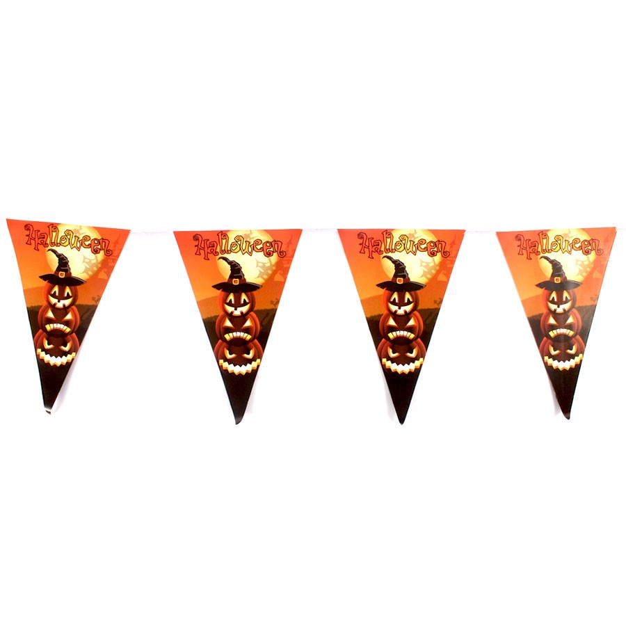 Bandeirinhas para Decoração de Halloween