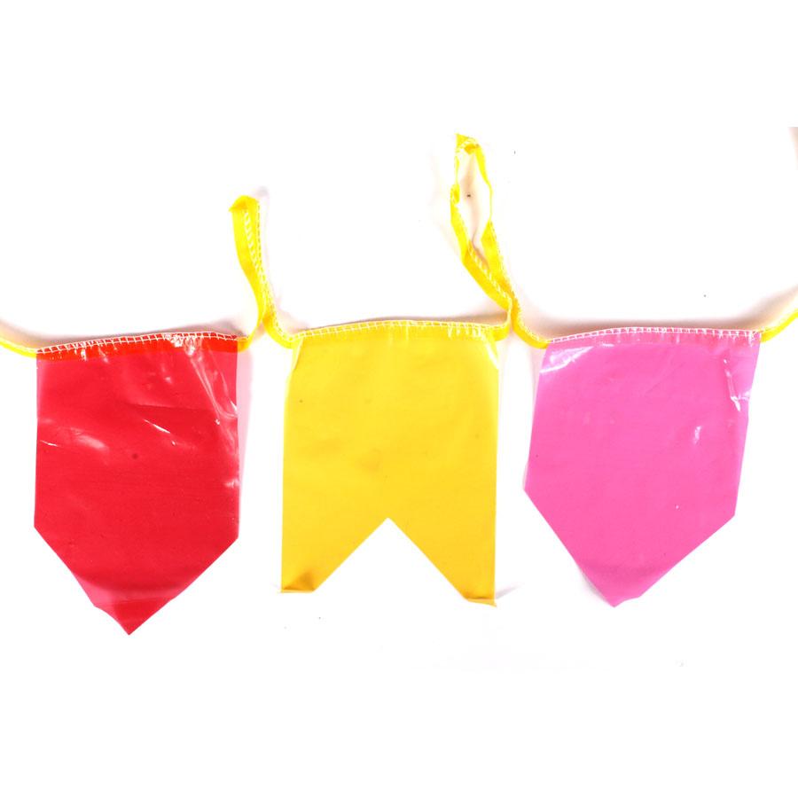 Bandeirinhas de Plástico Festa Junina 10 Metros