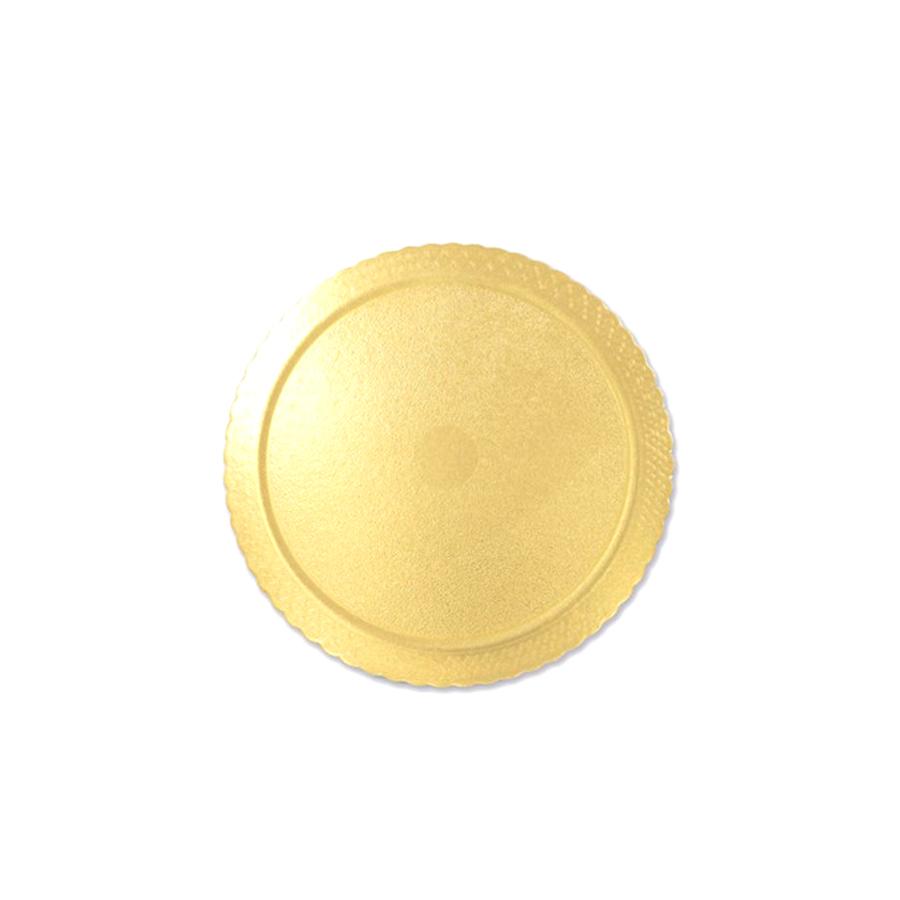 Base para Bolo Redondo Cake Board Ouro 28 cm