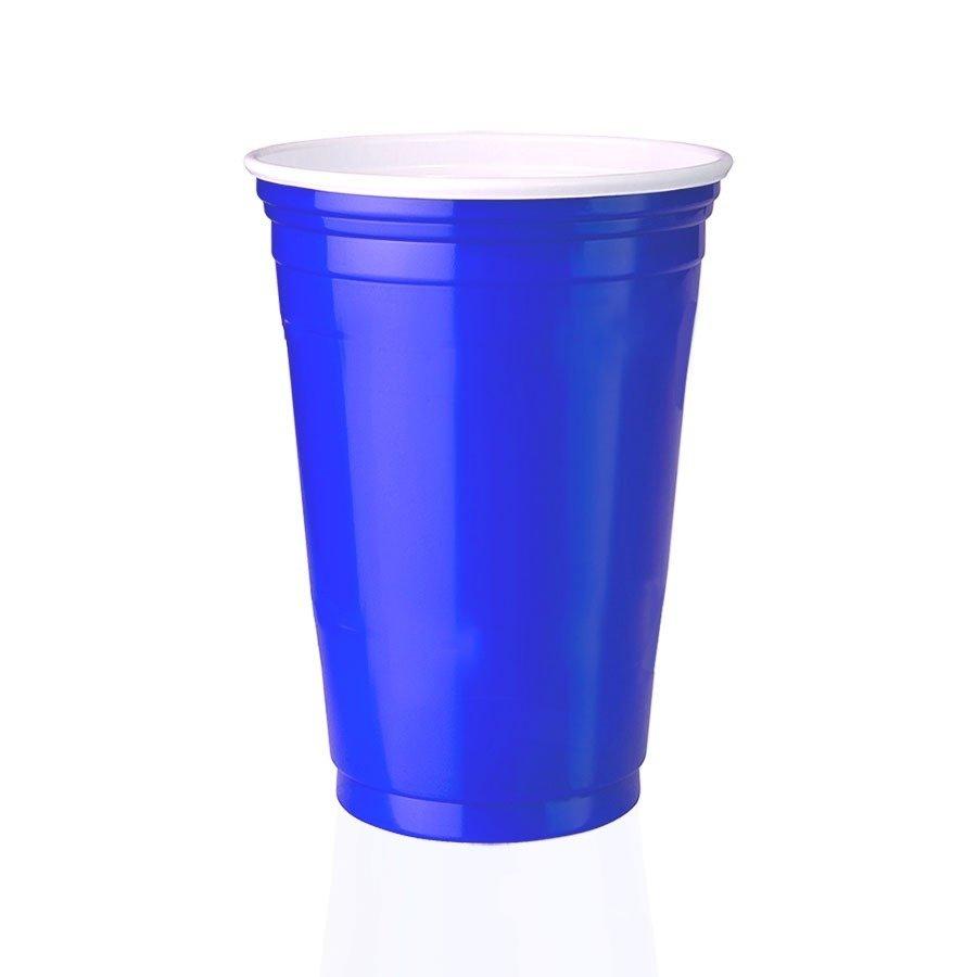 Blue Cup Copo Festa Americano Azul 300ml 125 Unidades