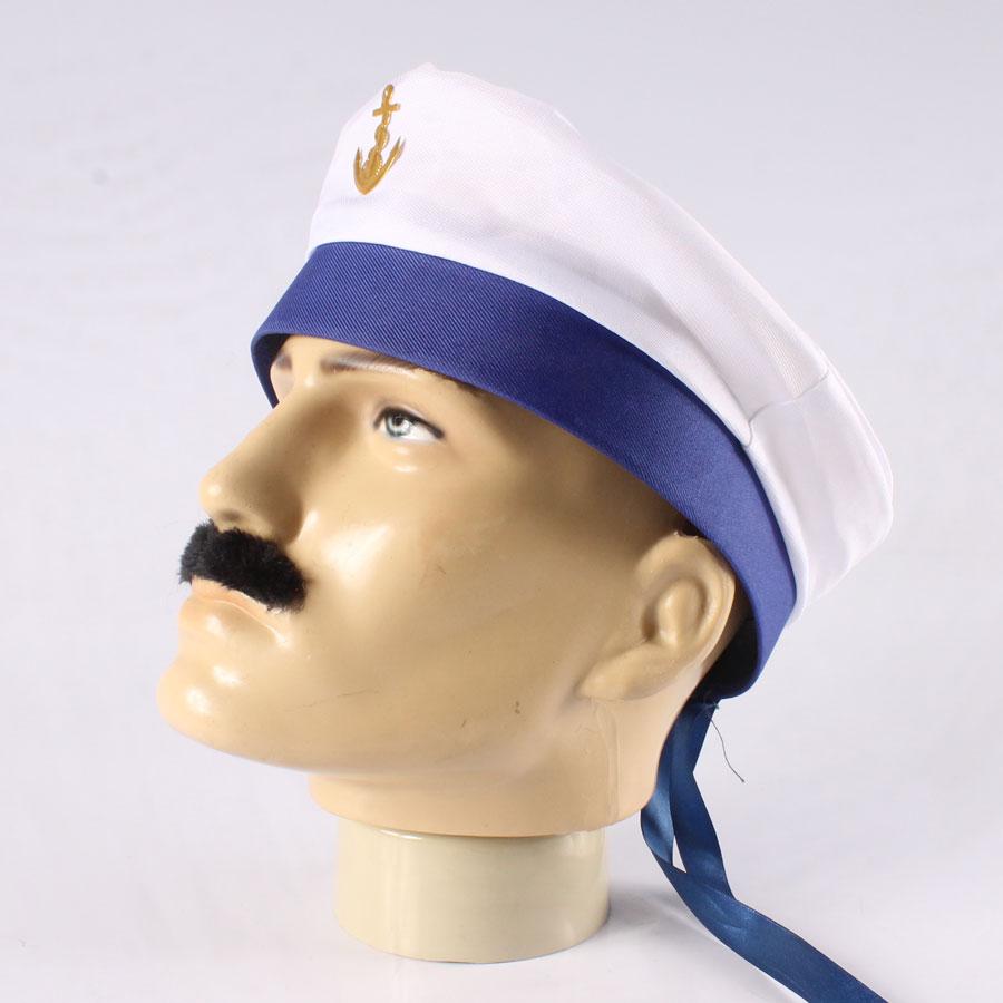1599fa1d27e55 Boina de Marinheiro com Aba e Fita Azul - Aluá Festas